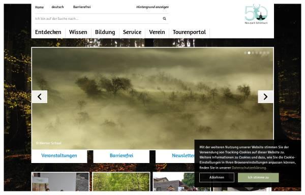 Vorschau von www.naturpark-schoenbuch.de, Naturpark Schönbuch