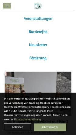Vorschau der mobilen Webseite www.naturpark-schoenbuch.de, Naturpark Schönbuch