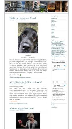 Vorschau der mobilen Webseite jr849.de, Jr849 Blog