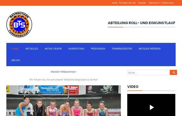 Vorschau von www.bayreuther-turnerschaft.de, Bayreuther Turnerschaft