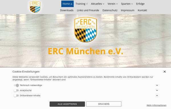 Vorschau von www.erc-muenchen.de, ERC München