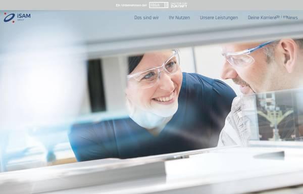 Vorschau von www.isam-inma.de, iSAM-inma GmbH