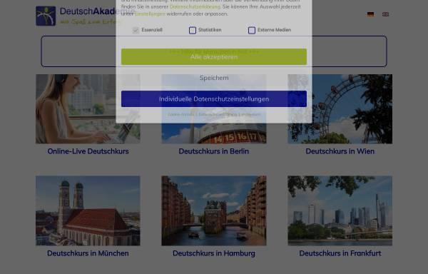 Vorschau von www.deutschakademie.de, DeutschAkademie
