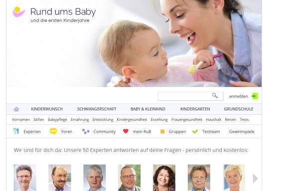 Vorschau von www.rund-ums-baby.de, Rund ums Baby