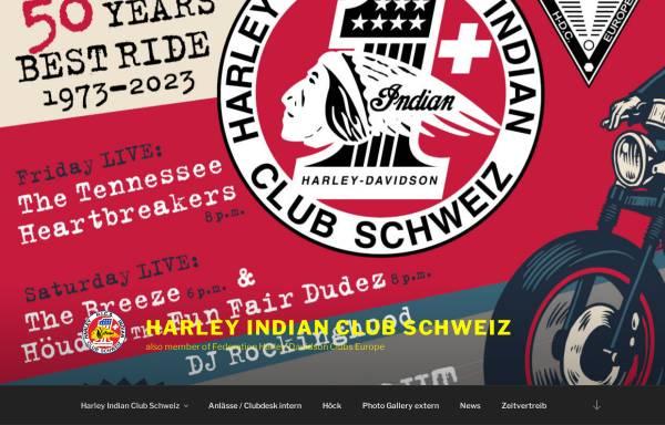 Vorschau von www.harley-indian-club.ch, Harley Indian Club Schweiz (HICS)