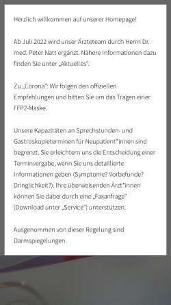 Vorschau der mobilen Webseite www.falk-krause-kuhn.de, Falk, Dr. med. Michael, Krause, Dr. med. Thomas und Kuhn, Manfred
