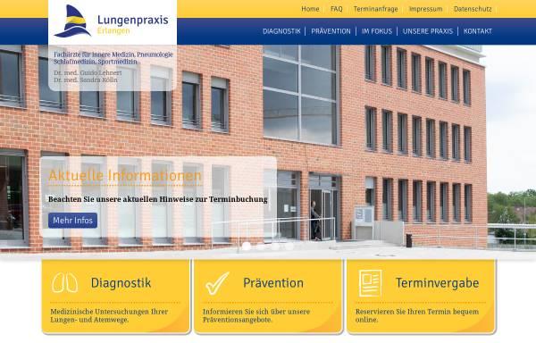 Vorschau von www.lungenpraxis-erlangen.de, Lehnert, Dr. med. Guido