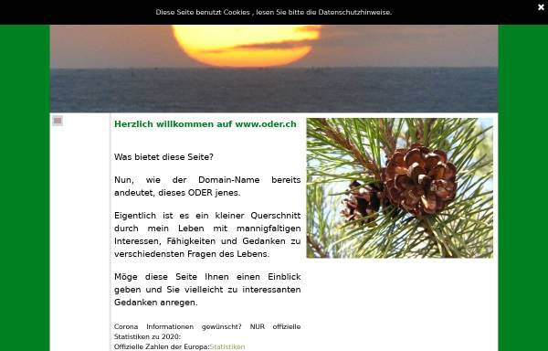 Vorschau von www.oder.ch, Die Schweizer Priesterseite