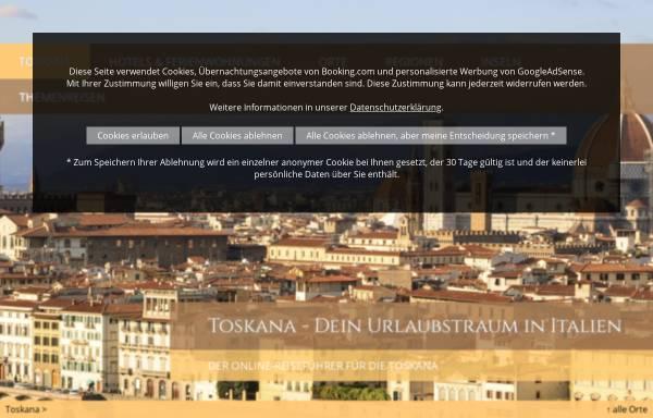 Vorschau von www.florenz-siena-toskana.de, Florenz Siena Toskana