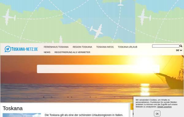 Vorschau von www.toskana-netz.de, Toskana-netz