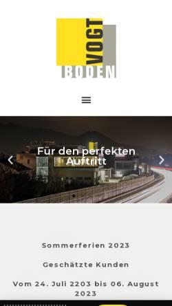 Vorschau der mobilen Webseite www.balzvogt.ch, Balz Vogt AG