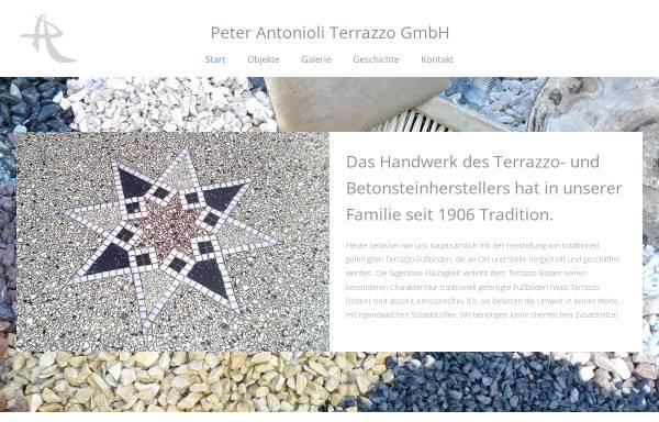 Vorschau von www.terrazzo-antonioli.de, Peter Antonioli