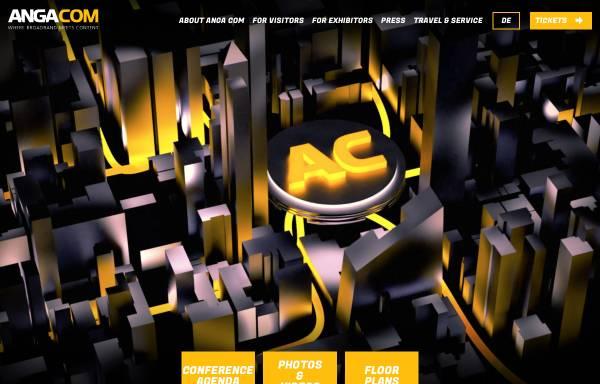 Vorschau von www.angacable.de, ANGA Cable