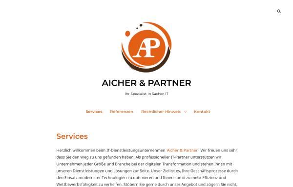 Vorschau von www.aicher.at, Aicher & Partner