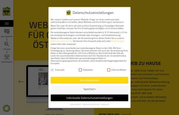 Vorschau von www.einstern.at, Einstern Agentur für Marketing Werbung Kommunikation