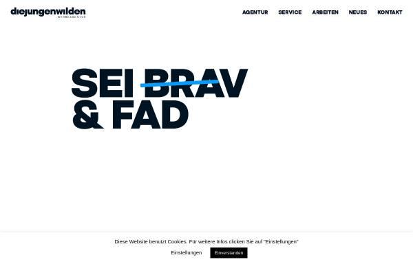 Vorschau von www.diejungenwilden.at, Die Jungen Wilden Werbeagentur GmbH
