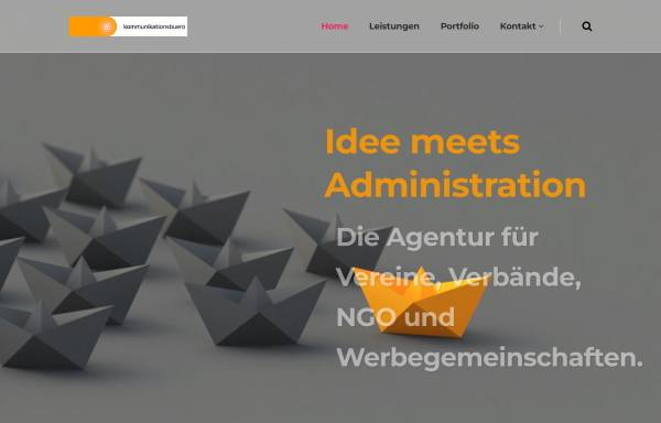 Vorschau von www.kommunikationsbuero.at, Kommunikationsbüro GmbH