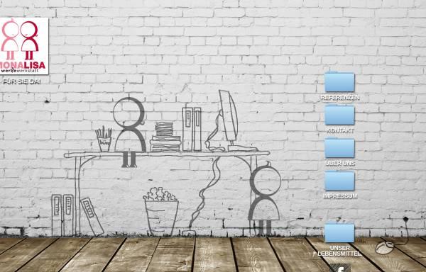 Vorschau von www.monalisa.co.at, Mona Lisa - Die Werbewerkstatt Linzmaier KEG