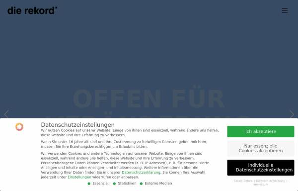Vorschau von www.rekord.at, Rekord Werbe GmbH