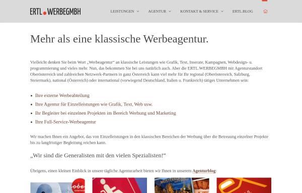 Vorschau von www.werbegmbh.at, Salzkammergut Werbeagentur