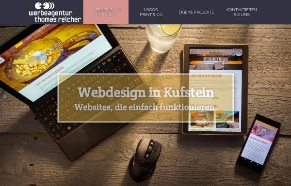 Vorschau von www.reicher.at, Werbeagentur Arnold Reicher GmbH
