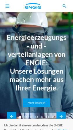 Vorschau der mobilen Webseite www.proenergy.de, Viterra Contracting GmbH