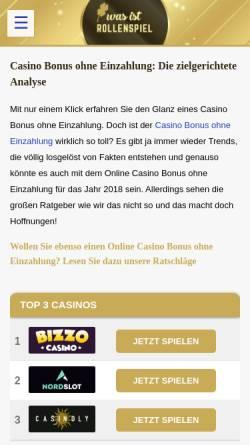 Vorschau der mobilen Webseite www.was-ist-rollenspiel.de, Was ist Rollenspiel?