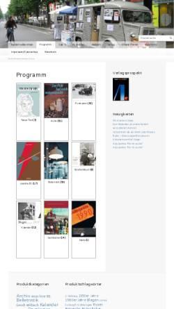 Vorschau der mobilen Webseite www.assoverlag.de, Asso Verlag