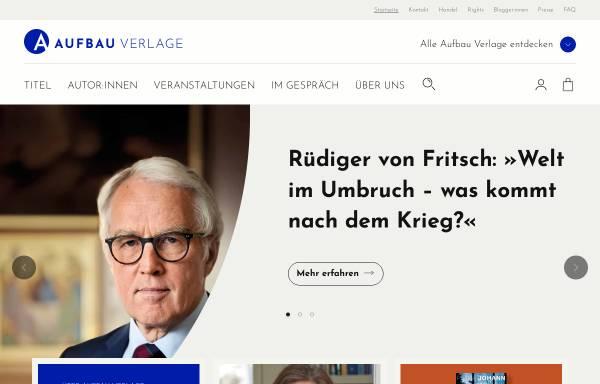 Vorschau von www.aufbau-verlag.de, Aufbau-Verlagsgruppe
