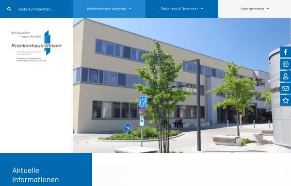Vorschau von www.krankenhaus-winsen.de, Krankenhaus Winsen