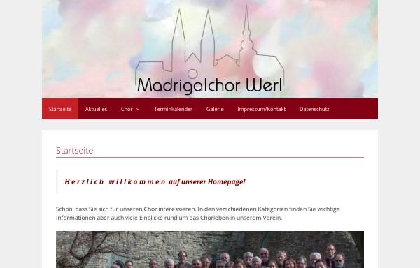 Vorschau von madrigalchor-werl.de, Madrigalchor Werl