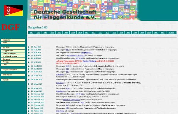 Vorschau von www.flaggenkunde.de, Deutsche Gesellschaft für Flaggenkunde