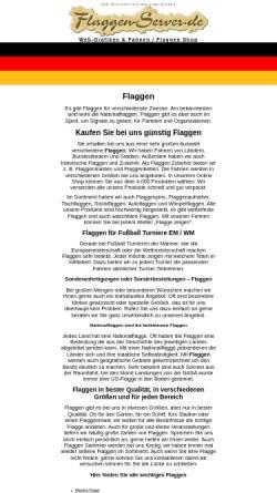 Vorschau der mobilen Webseite www.flaggen-server.de, Flaggen-Server.de - Frank Towet