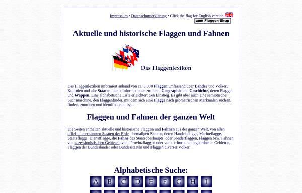 Vorschau von www.flaggenlexikon.de, Lexikon der Flaggen [Preuß, Volker]
