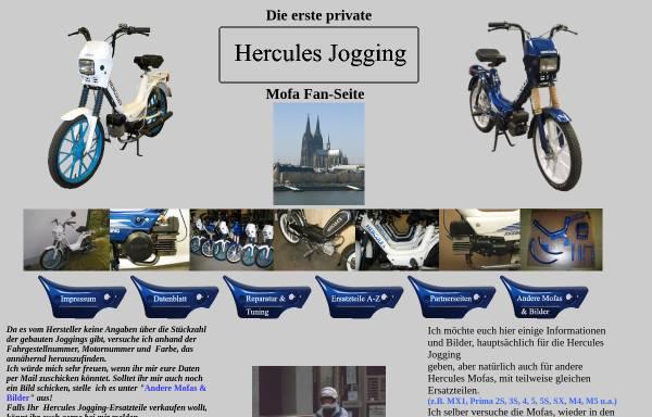 Vorschau von www.hercules-jogging.de, Hercules Jogging