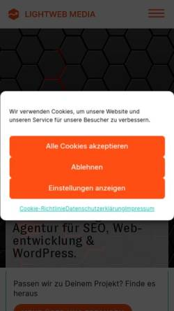 Vorschau der mobilen Webseite www.dodabo.de, Dodabo.de - WebTechnik und Anleitungen