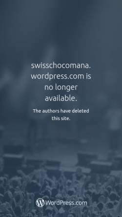 Vorschau der mobilen Webseite swisschocomana.wordpress.com, Choco Mana