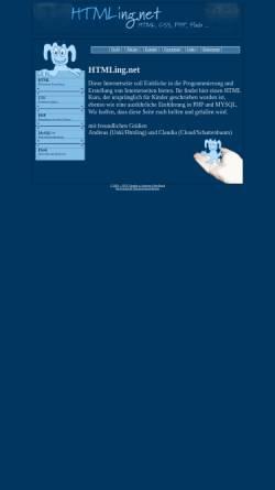 Vorschau der mobilen Webseite www.htmling.net, Die Geschichte eines HTMLings