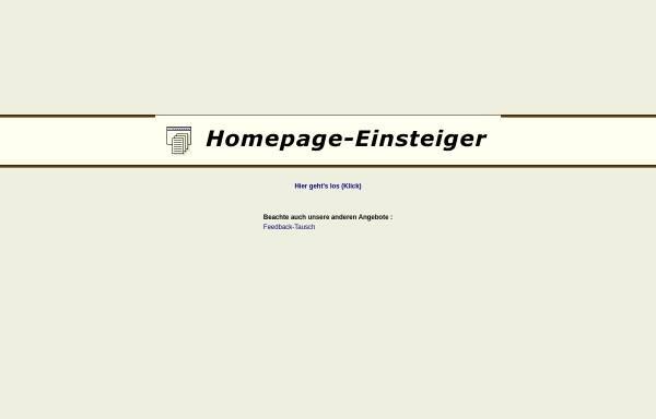 Vorschau von www.homepage-einsteiger.de, Homepage-Einsteiger.de