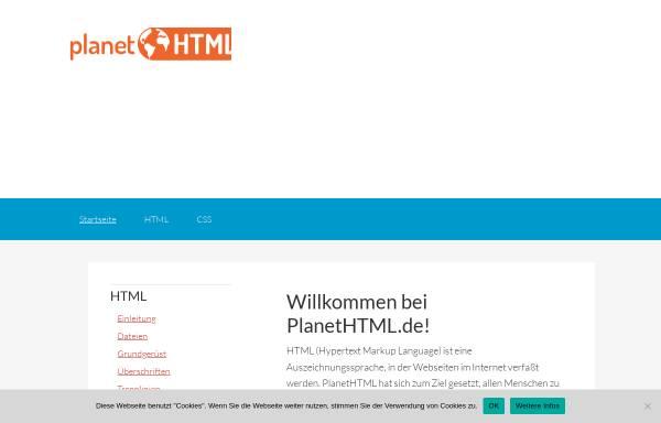Vorschau von www.planethtml.de, PlanetHTML.de