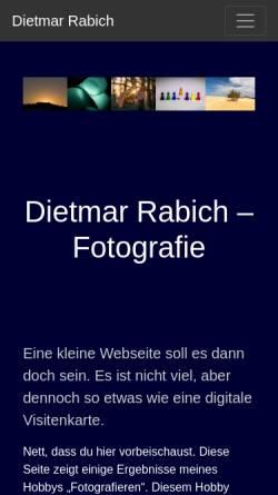 Vorschau der mobilen Webseite www.rabich.de, Rabich