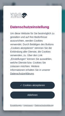 Vorschau der mobilen Webseite www.sehen.de, Kuratorium Gutes Sehen e.V.