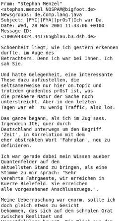 Vorschau der mobilen Webseite einklich.net, Bielefeld aus feldtheoretischer Sicht
