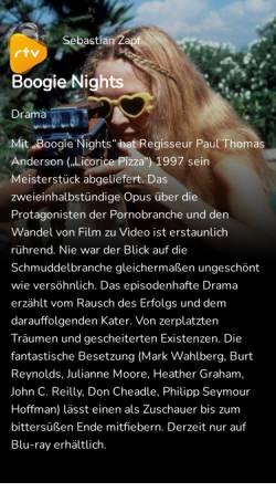 Vorschau der mobilen Webseite www.rtv.de, Rtv