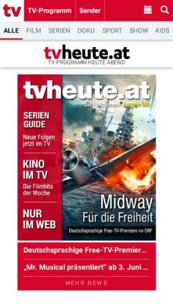 Tvheuteat Zeitungen Und Zeitschriften Online Magazine Fernsehen