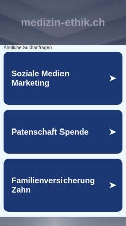 Vorschau der mobilen Webseite www.medizin-ethik.ch, Hildegard von Bingen (1098-1179)