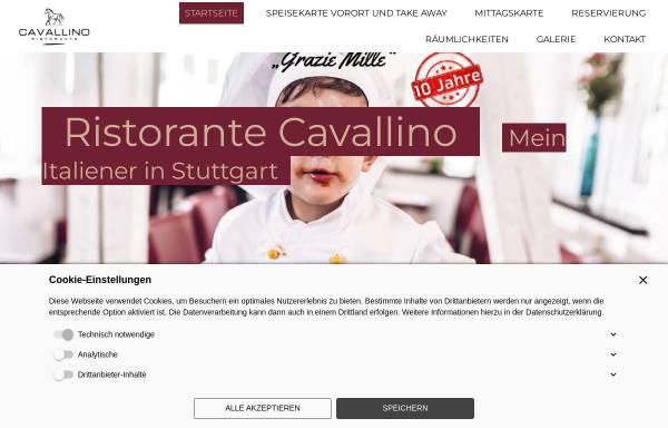Vorschau von www.cavallino-stuttgart.de, Ristorante Cavallino
