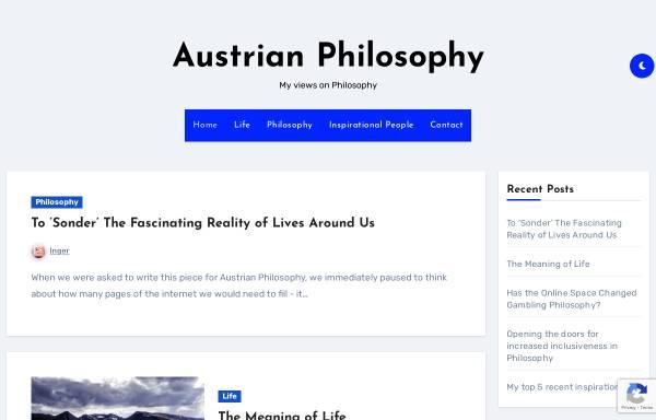 Vorschau von www.austrian-philosophy.at, Fdoep