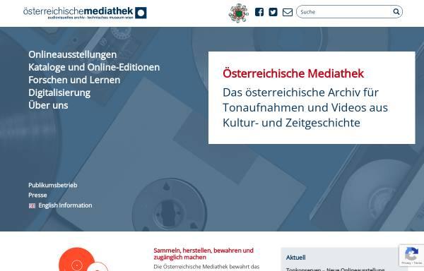 Vorschau von www.mediathek.at, Österreichische Mediathek