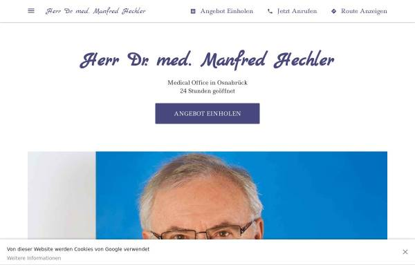 Vorschau von herr-dr-med-manfred-hechler.business.site, Dr. med. Manfred K. Hechler